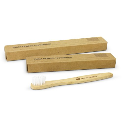 Sml and Lrg Bamboo Toothbrush