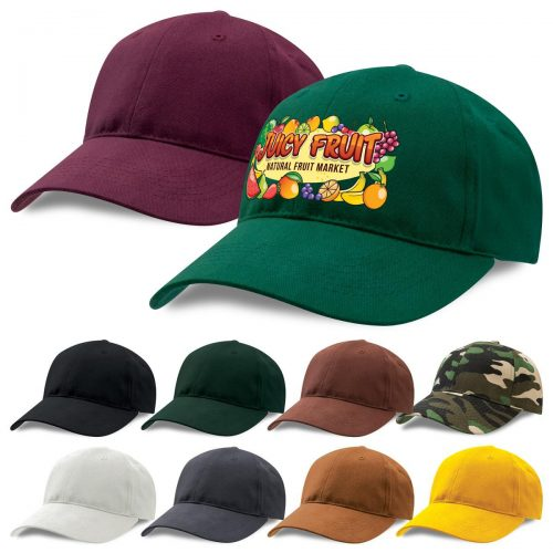 Premium Soft Cotton Cap (8000)