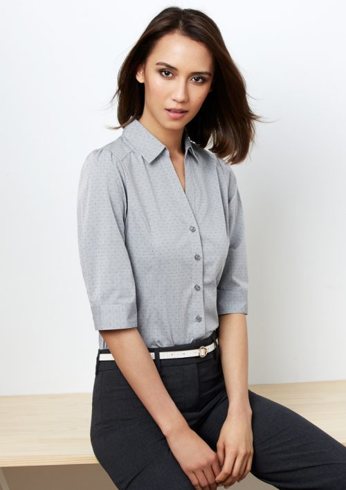 Ladies Trend 3/4 Sleeve Shirt (S622LT)