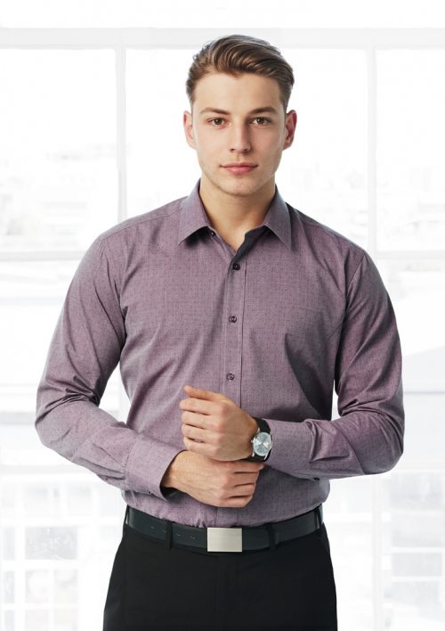 Mens Trend Long Sleeve Shirt (S622ML)