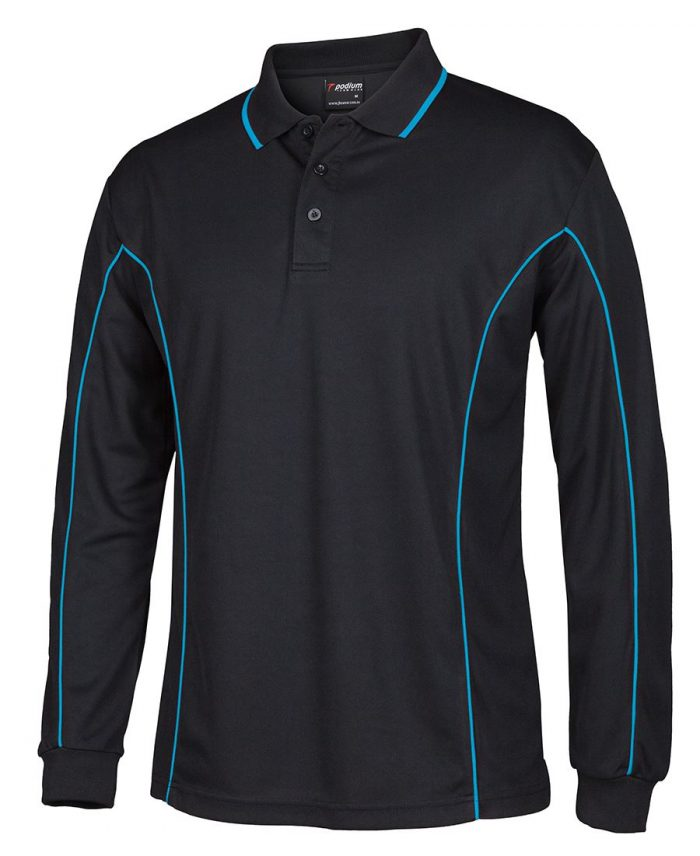 L/S PIPING POLO (7PIPL)