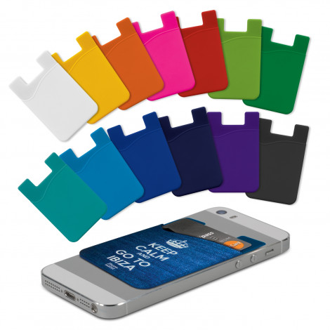 Silicone Phone Wallet - Full Colour (112924)