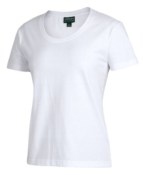 C of C Ladies Comfort Crew Neck Tee (1CCT1)