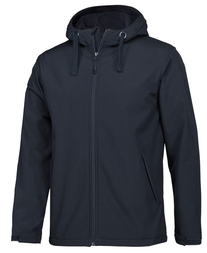PODIUM KIDS & ADULTS WATER RESISTANT HOODED SOFTSHELL JACKET (3WSH)