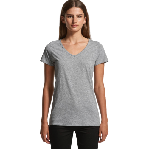 AS Colour Bevel V-Neck Tee (4010)