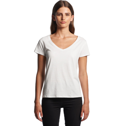 AS Colour Women's La Brea V-Neck Tee (4047)