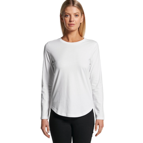 AS Colour Women's Curve Long Sleeve Tee (4055)