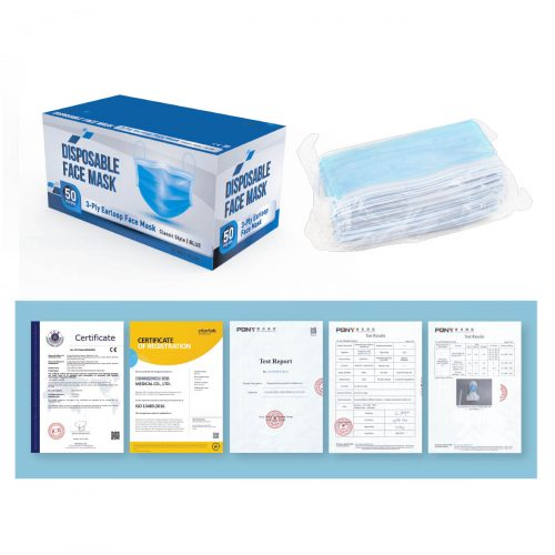 Personal Disposable Mask - 50PC Box (PCA022)