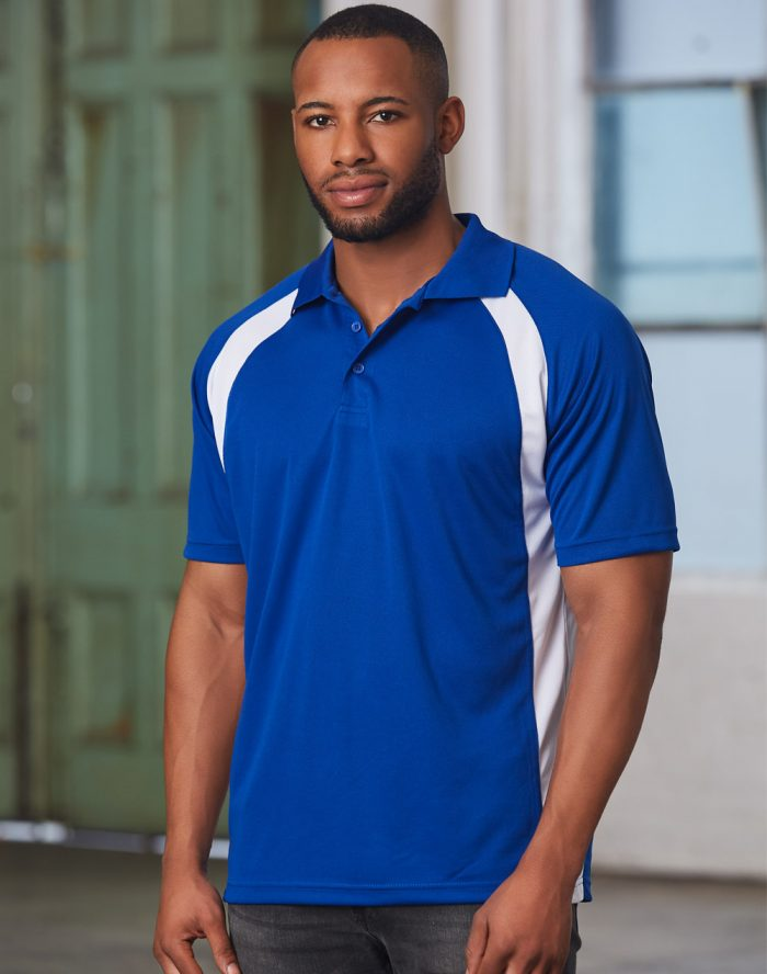 ATHENS SPORT CoolDry Micro-mesh Short Sleeve Polo (PS30)